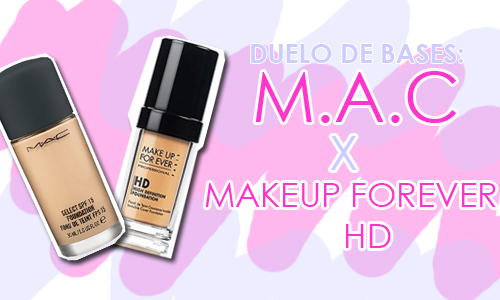 centinaio Intenso Trattore  RESENHA: Base M.A.C X MakeUp Forever HD